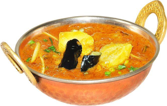 アルベガンカレー  Aloo Began Curry